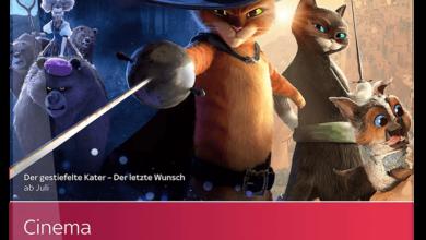 Photo of Sky Cinema Paket (Österreich)