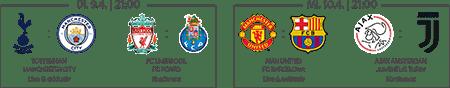 Champions League Top-Spiele live bei Sky