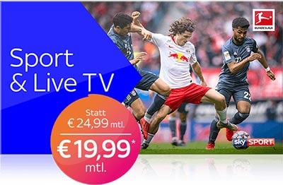 Sky X Sport & Live TV Angebot