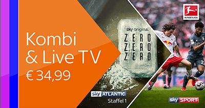 Sky X Kombi & Live TV Paket