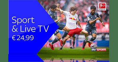 Sky X Sport & Live TV Paket