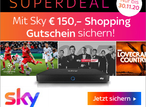 Bild von Sky.at Black Friday: Superdeal vom 20.11. – 30.11.